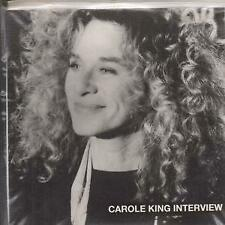 CAROLE KING Interview CD UK King's X 1993 Promo Only 30 Minute Interview With