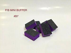 Mini Nail Buffer Sanding Block 80/80 Coarse/Coarse P/B Nail Buffing Salon Choice