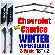 WINTER Wipers 2-Pack Premium Grade - fit 1971-1990 Chevrolet Caprice - 35180x2
