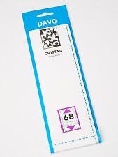 DAVO CRISTAL STROKEN MOUNTS C68 (215 x 72) 10 STK/PCS