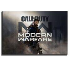 Call of Duty: Modern Warfare PS4 Poster Print Canvas Wall Art 60cmX90cm No Frame