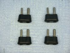 More details for quantity  of  4  voltage selector  2 pin  plugs   as  used on  many  valve  amps