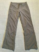 Patagonia Women's Nylon Blend Outdoor Pants Drawstring Sz 6 #L1