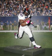 Custom J. Thomas #80 TE Den Broncos (breast cancer awareness) Mcfarlane figure
