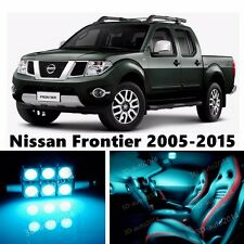 8pcs LED ICE Blue Light Interior Package Kit for Nissan Frontier 2005-2016