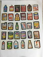 1973 Topps Wacky Packages Original 1st Series Complete Set 30/30
