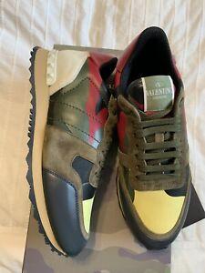 New Auth Valentino Garavani Rockrunner Camouflage Men Sneakers Shoes 7 40 $795