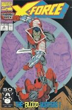 X-FORCE #2 Vol.1 (First Print) 2nd App. of DEADPOOL! 1991 NM 9.4