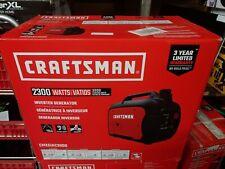 Craftsman CMXGIAC3000 GasInverter Generator 2300 Running Watts NEW NEW