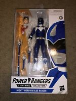"""Power Rangers Lightning Collection 6"""" Mighty Morphin Blue Ranger Billy"""