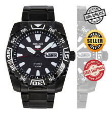 SEIKO 5 Sports Automatic SRP169 SRP169J1 Men Black 100m Steel Watch Made Japan