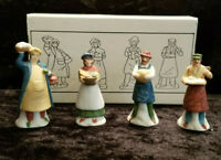 SALE!!  Shopkeepers Figurines, Heritage Village Accessories, Set of 4, Dept. 56