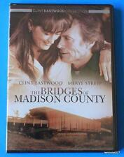 """The Bridges of Madison County"",Clint Eastwood, Meryl Streep ,1995 DVD Brand New"