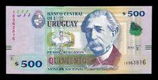 B-D-M Uruguay 500 Pesos Uruguayos 2014  Pick 97 Serie E SC UNC