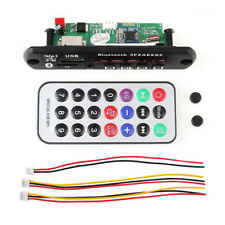 12V Bluetooth MP3 WMA FM AUX Decoder Modul Audio TF SD Card USB Radio Auto New