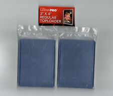"""10  x Ultra Pro - Regular Toploaders (3"""" x 4"""")  - Top Loaders for Trading Cards"""