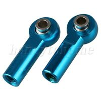 2pcs M4 Link Rod End Ball Joint for RC 1:8 & 1:10 Model Car Upgrade Parts Blue