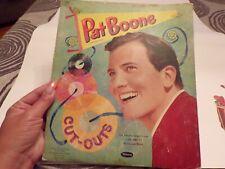 Vintage 1959 Pat Boone Whitman Paperdoll