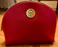 Versace Genuine Amenity Kits Bag Pink  *Brand New* inc All Contents