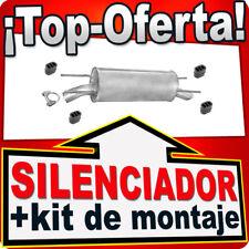 Silenciador Trasero OPEL OMEGA B 2.0 DTI 2.5 TD 1994-1999 Escape TUH
