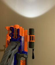 3D Printed Universal Nerf Gun Flashlight Mount Accessory