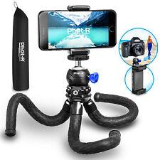 Phot-R Flexible Gorilla Travel Tripod Ball Head Universal Camera Phone Holder