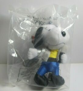 McDonald's 2001  The Many Lives of Snoopy plush toy #11 Singer unopened