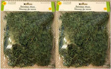 FLORAL REINDEER MOSS For Artificial Arrangements - 24 Cu. In. - LOT (2) - NEW!!!