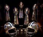 Dallas Cowboys super bowl trophies Photo (Select Size)