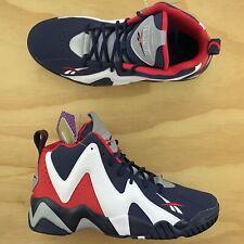 Reebok Kamikaze II OG USA Olympics White Red Blue Basketball Shoes FV9295 Size