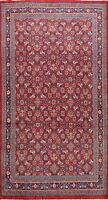 Vintage Geometric Mahal Traditional Area Rug Hand-knotted Oriental 7'x10' Carpet