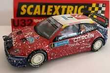 SCALEXTRIC CITROEN XSARA # 4 EFECTO NIEVE C.SAINZ-MOYA ONLY IN SETS.MINT UNBOXED