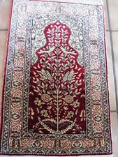 Fine, OLD ORIENTAL RUG __ SILK CARPET __ Motif Carpet__Turkey__