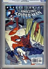 1)CGC 9.8-AMAZING SPIDER-MAN Vol.2 #35(11/01)AUNT MAY DISCOVERS PETER'S IDENTITY
