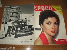 EPOCA 1953/121=GINA LOLLOBRIGIDA=MONTECASSINO=AGATHA CHRISTIE=GINO CAPPELLO=