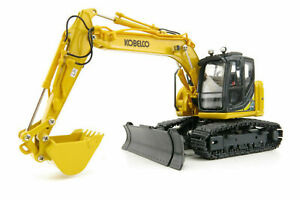 Kobelco ED160BR-5 Excavator - Yellow - Ros 1:50 Scale Model #25034 New!