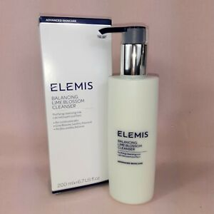 NEW Elemis Balancing Lime Blossom Facial Cleanser 200ml Boxed