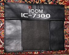 Monogrammed Leatherette Cover for ICOM IC-7300  HF Transceiver - Unused