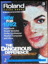 Roland Users Group Magazine, Michael Jackson Dangerous, New for 1992, Much More!