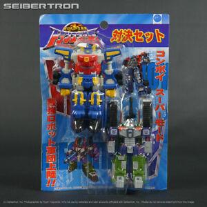 SUPER CONVOY VS MEGATRON Transformers Micron PVC showdown set Takara 2003 Japan