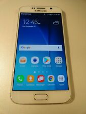 Samsung Galaxy S6 Pearl White VZW Unlocked 32GB Read Desc. (4B4.PH.43.71.AU)