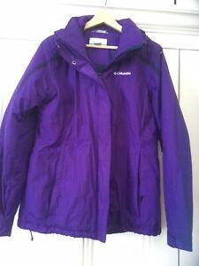 Colombia Purple Jacket Large