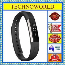 NEW FITBIT ALTA BLACK LARGE ACTIVITY TRACKER,SLEEP QUALITY,INTERCHANGEABLE BANDS