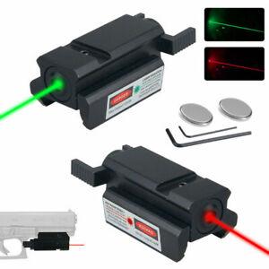 20mm Taktisch Red Grün Dot Laser Picatinny Weber Schienen Montage Compact DE