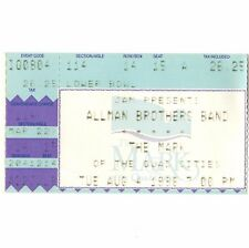 Allman Brothers Band Concert Ticket Stub Moline Il 8/4/94 Quad Cities The Mark