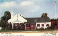 1940s Evans Coffee Shop Arlington Virginia Ruth postcard 5936