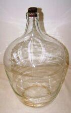 Vecchio decorativo DDR Fiasca vino Ampolla di fermentazione,Vetro circa circa