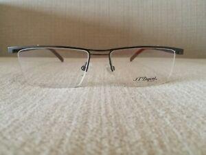 St Dupont Lunette Eyewear Half Frame Glasses Model DP 3052 Col2  GUN METAL 54mm