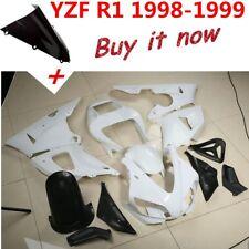 Unpainted ABS Fairing Bodywork For Yamaha YZF R1 YZF-R1 1998-2011 1999 2000 2001