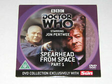 DOCTOR WHO. SPEARHEAD FROM SPACE. PART 1 EPISODE. DVD. BBC TV. JON PERTWEE